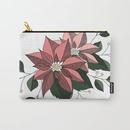 Nochebuena Rosa Carry-All Pouch