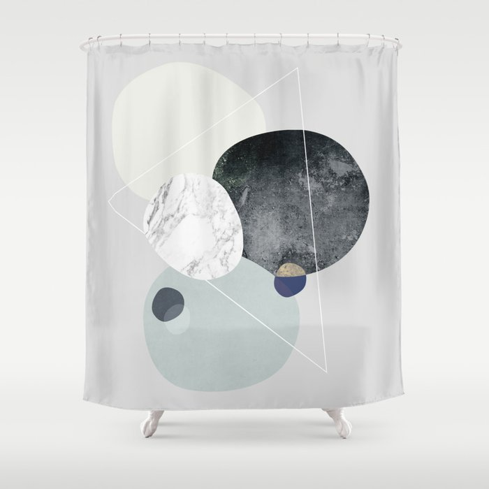 Graphic 89 Shower Curtain by maboe | Society6