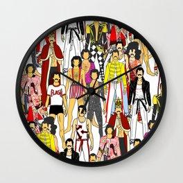 Freddie-A-Thon Wall Clock