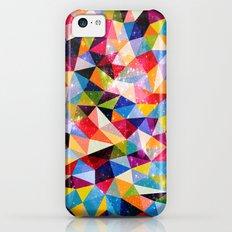 Space Shapes iPhone 5c Slim Case