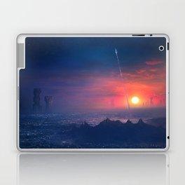 Barcelona Smoke & Neons: Montserrat Laptop & iPad Skin