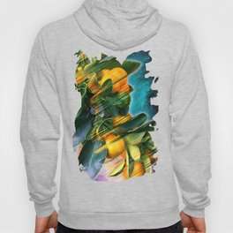 Small fruit tree in outer space Hoody