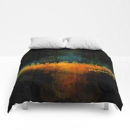 Kansas City Skyline UHq v4 Comforters