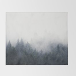 I Don't Give A Fog Throw Blanket