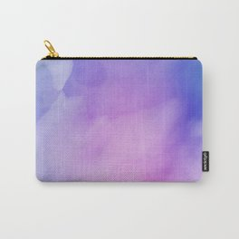 Pastel Dreams Painted Surface Colorful Watercolor Carry-All Pouch