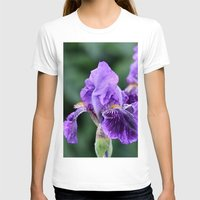 iris T-shirts featuring Iris by IowaShots