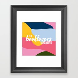 The Booklovers Magazine Framed Art Print