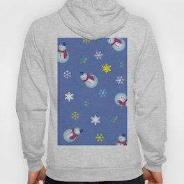 Snowflakes & Snowman_C Hoody