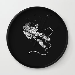 Cold Space Wall Clock