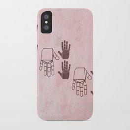 HANDS I iPhone Case