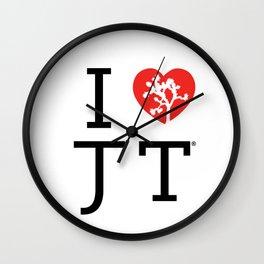 I love Joshua Tree by CREYES Wall Clock