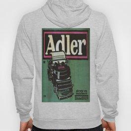 Vintage poster - Adler Typewriters Hoody