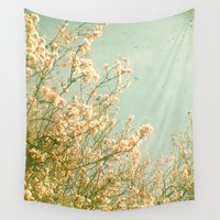 spring Wall Tapestries featuring Spring by Cassia Beck
