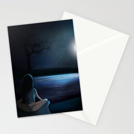 Dream until your dreams come true. Stationery Cards
