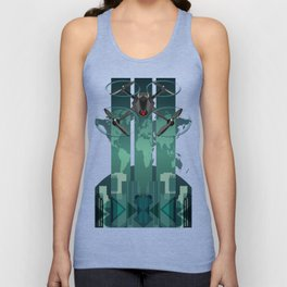 Amazon Prime Air or SKYNET the begining Unisex Tank Top