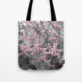 Under The Redbud Tree Tote Bag