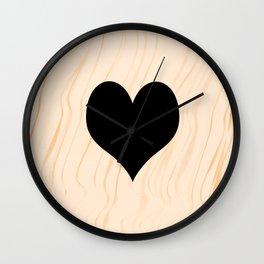 Scrabble Heart - Scrabble Love Wall Clock