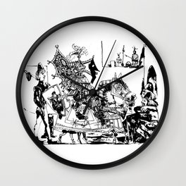 Pablo Picasso, Jeux de pages (Pages Games), 1951, Artwork Reproduction, Design for Men, Women, Kids Wall Clock