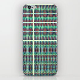 plaidish iPhone Skin