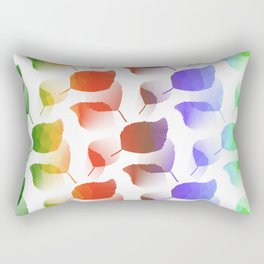 Leaves Descent Rectangular Pillow