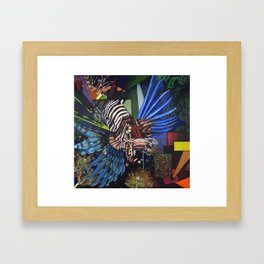 King of the Reef Framed Art Print