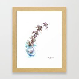 Like a Fish Out of Water Framed Art Print