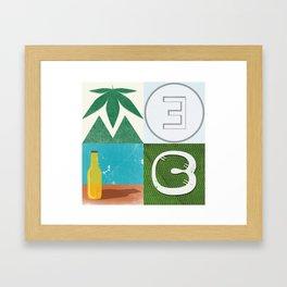 MELC Framed Art Print