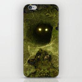 Black Cat Dancing iPhone Skin