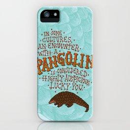 Pangolin iPhone Case