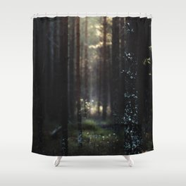 Home of the broken toys Shower Curtain
