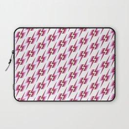 Lightning Pattern - Berry Laptop Sleeve