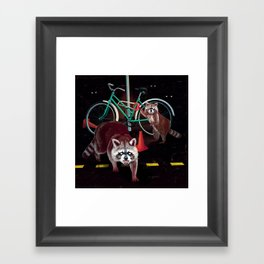 Lil' Thieves Framed Art Print