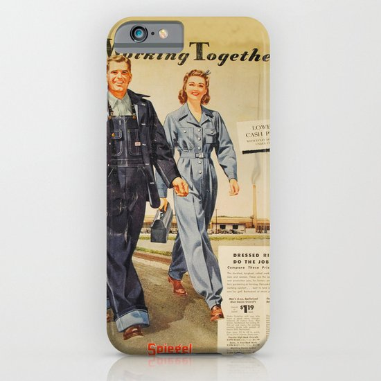 1942 Working Together Cover iPhone & iPod Case