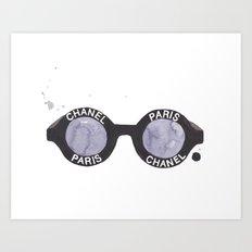 Coco Sunglasses Art Print
