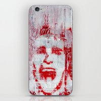 american psycho iPhone & iPod Skins featuring AMERICAN PSYCHO by John McGlynn