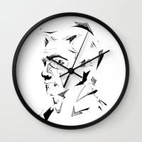 dc Wall Clocks featuring DC by CHAN CHAK MAN, CK