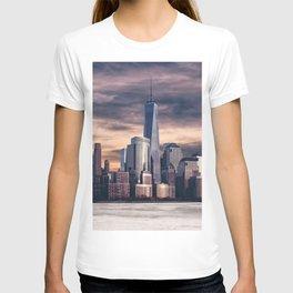 Dramatic City Skyline - NYC T-shirt