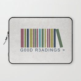 Good Readings are priceless Laptop Sleeve