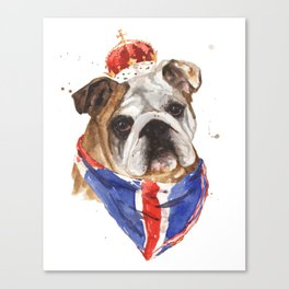British Bulldog Canvas Print