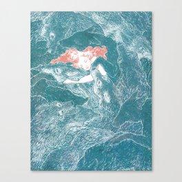 The Child Sleeps Canvas Print