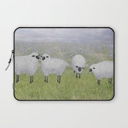 sheep and chicory Laptop Sleeve