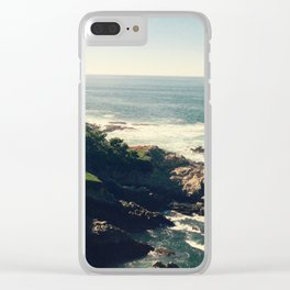 Edge of the World Clear iPhone Case
