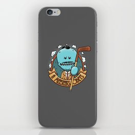 A Meeseeks Obeys iPhone Skin