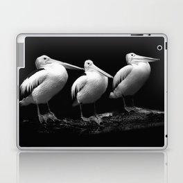 Pelican Trio black and white Laptop & iPad Skin