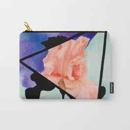 Ironic Iris Carry-All Pouch