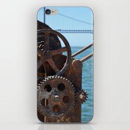 Almada, winching machine iPhone Skin
