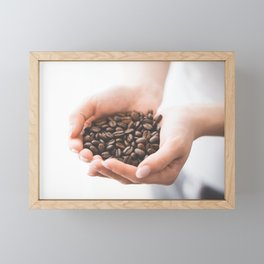 Roasted Coffee Framed Mini Art Print