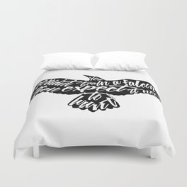 Six of Crows - Falcon design Duvet Cover