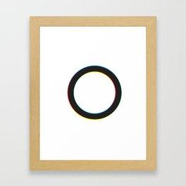 The Outside Circle Framed Art Print