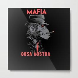 Cosa Nostra Metal Print